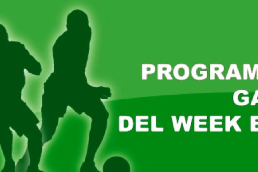 Il programma del weekend